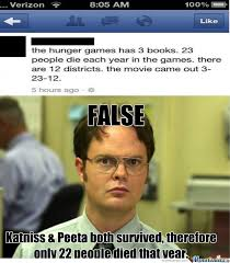 Hunger Game Memes - hunger games fail fact by zyopy meme center