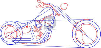 how to draw a superbike hobbiesxstyle