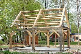 Plans For Building A Firewood Shed by Free Cheap Timber Frame Designs For Wood Drying Shed