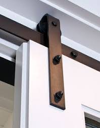 Erias Home Designs Straight Strap Sliding Barn Door by The Customization Of Our Sliding Barn Door Shutters Is Up To You