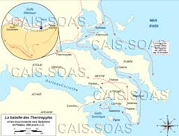 Blank Map Of Ancient Greece The Persian Invasion Of Greece Cais