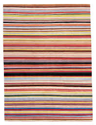 Blue And Red Striped Rug Bright Striped Rugs Roselawnlutheran