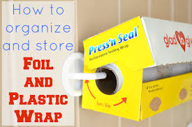 Kitchen Wrap Organizer by How To Store Foil And Plastic Wrap Ask Anna