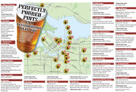 Portland Brewery Map by Vancouver Taprooms Shall I Hit Up All 22 This Summer I Think So