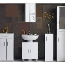 Hygena Bathroom Furniture Essentialz Hygena Bathroom Wall Cabinet White Gloss With