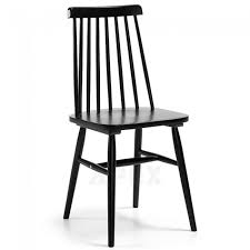 Birch Dining Chairs Solid Birch Wood Timber Dining Chair Black Barons