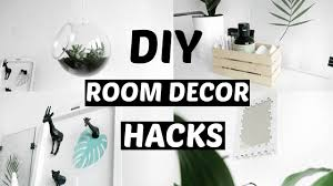 Easy Life Hacks Diy Room Decor Life Hacks Minimal Ideas For 2017 Easy