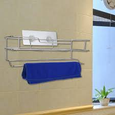 Wall Mounted Bathroom Shelves Stainless Steel Bathroom Shelves Storage Baskets Sopa Rail Holders