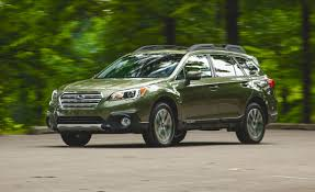 subaru green forester 2015 subaru outback 3 6r instrumented test u2013 review u2013 car and driver