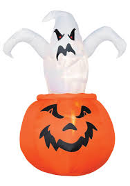 airblown outdoor ghost out of pumpkin halloween costume ideas 2016
