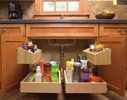 kitchen sink cabinet storage best 25 kitchen sink storage ideas on