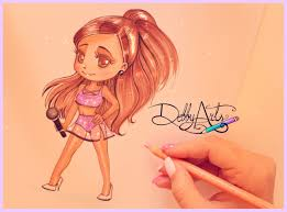 chibi ariana chibi version by debbyarts on deviantart