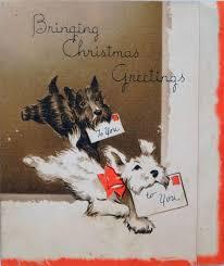 2378 best christmas vintage dogs images on pinterest vintage