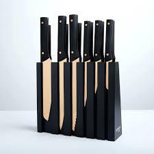 never sharpen kitchen knives knight knife block set 13 piece