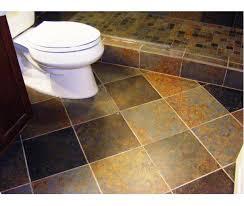 simply chic bathroom floor tile ideas