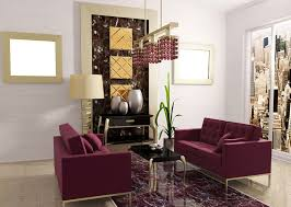 hangings and purple sofa for living room download 3d house