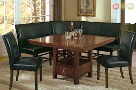 Tables With Bench Seating Salem 6pc Breakfast Nook Dining Set Table Corner Bench U0026 Chairs