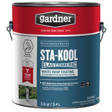 henry 4 75 gal 869 elastomeric aluminum roof coating he869079