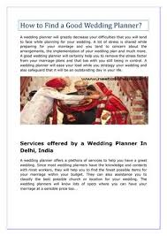 Perfect Wedding Planner How To Find A Good Wedding Planner Tbrb Info