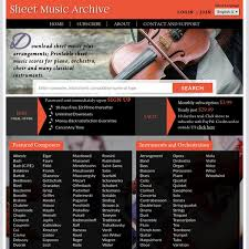 sheet archive downloadable sheet plus free classical