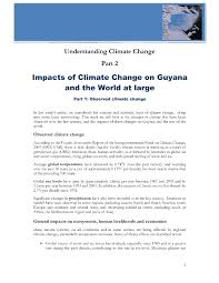 objective for medical billing and coding resume understanding climate change part 2 impacts of climate change on guyana and the world at large part 1 observed climate change1 jpg understanding climate change part 2 impacts of climate change on guyana and the world at