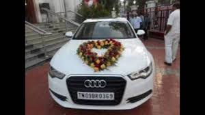 madurai decorators 2016 wedding car decoration youtube