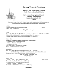 christmas concert program template 6 concert program templates free to download in pdf word and excel