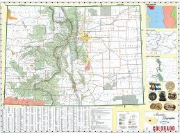 Colorado State Map colorado state political map
