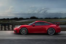 carmine red porsche 2018 porsche 911 gt3 first drive review automobile magazine