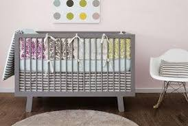 blue and grey baby crib bedding