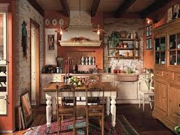 Kitchen Country Design Décoration Maison De Campagne Un Mélange De Styles Chic