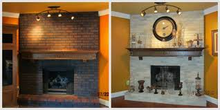 spring fireplace painting ideas brick anew blog