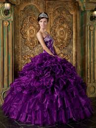 quinceanera dresses 2014 designer cascade skirt pansy purple quinceanera gowns