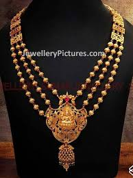 22 cart gold gundla haram designs collection s