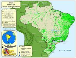 Rio On World Map Brazil Worldmap Org