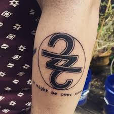 someone already got a tattoo inspired by the new bon iver album