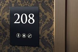 room hotel room number signs home design new contemporary and