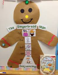 the gingerbread man and unit tons of math literacy and