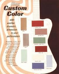 vintage guitars info gibson custom color finishes on gibson