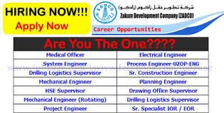 planning engineer jobs in dubai uae for americans hospital zadco careers vacancies zadco zakum development company uae