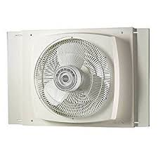 most powerful window fan amazon com lasko 2155a electrically reversible window fan 16 inch