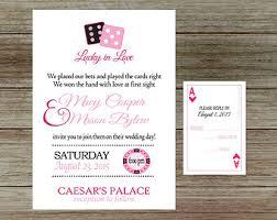 vegas wedding invitations top of las vegas wedding invitations theruntime