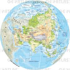 Political Map Asia by Geoatlas Globes Asia Map City Illustrator Fully Modifiable