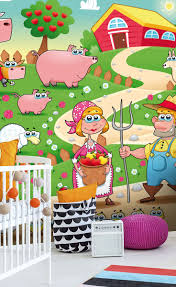 23 best baby room wall murals images on pinterest babies rooms country farm wall mural