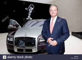 bmw ceo tom purves chairman and ceo of the rolls royce auto brand which