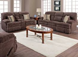 Double Reclining Sofa by Homestretch 103 Chocolate Series Double Reclining Sofa With