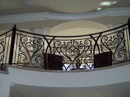 wrought iron ornamental iron railings custom made to your needs