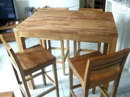 table haute de cuisine pas cher table de cuisine pas cher occasion table extensible pas cher pour