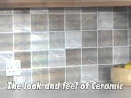Brilliant Delightful Self Stick Backsplash Tiles Peel And Stick - Peel and stick backsplash glass tiles