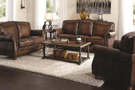 Living Room Sets Bob Mills Montbrook Sofa 503981 Coaster Furniture Leather Sofas At Comfyco